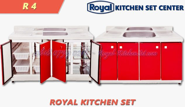 ROYAL KITCHEN SET ROYAL KITCHEN ROYAL ELEGANT<br>(ROYAL 4) 1 produk_royal_kitchen_set_royal_07