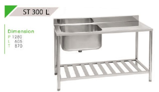 ROYAL TROLLEY AND TABLE ROYAL TABLE 11<br>(ST 300) 2 st_300_l